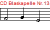 CD Blaskapelle Nr.13