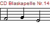 CD Blaskapelle Nr.14