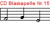 CD Blaskapelle Nr.15